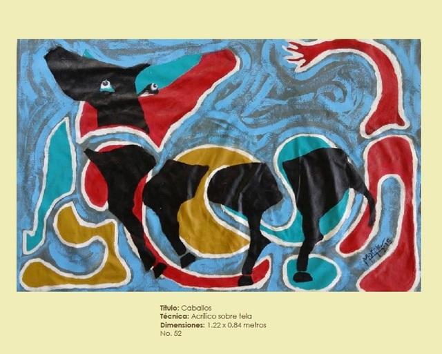 , ' Caballos,' 2015, Galleria d'Arte Martinelli