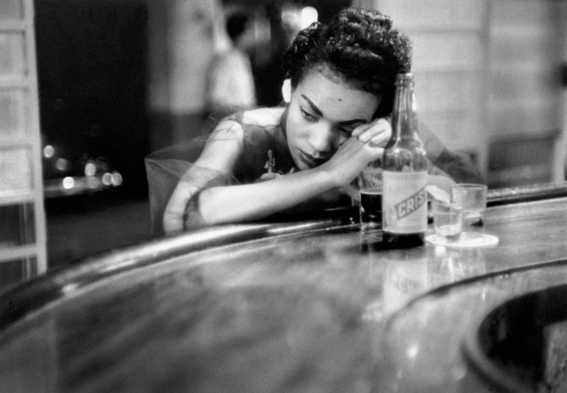 Eve Arnold, 'Bar girl in a brothel in the red-light district. Havana, Cuba', 1954, Photography, N/A, Magnum Photos