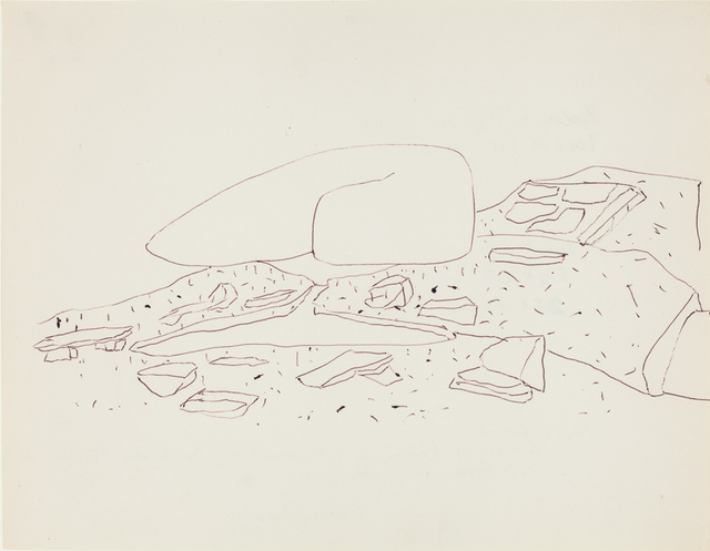 Frederick John Kiesler, 'Untitled [Tooth House Conceptual Drawing]', 1948, Jason McCoy Gallery