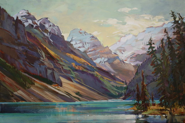 , 'Lake Louise Afternoon,' , Wallace Galleries