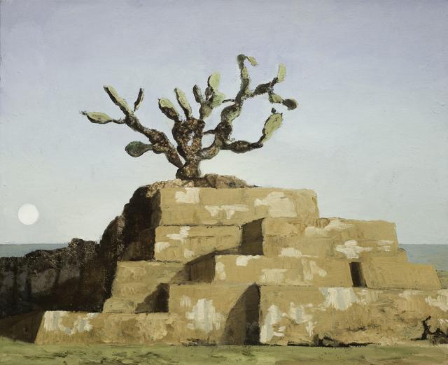 Eric Pérez, 'Nopal', 2020, Painting, Oil on canvas, Aldama Fine Art