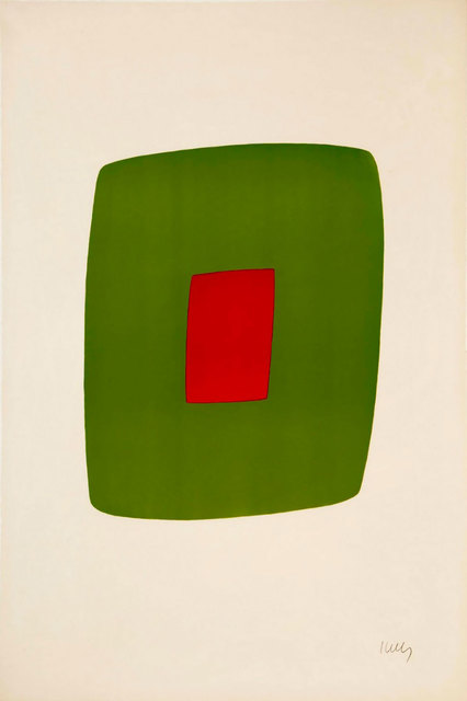 , 'Green with Red,' 1964-1965, Robert Fontaine Gallery