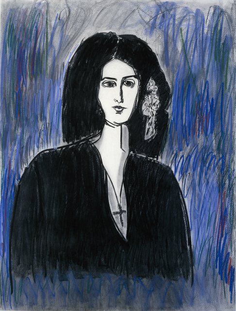 , 'Portrait of George Sand,' 1988, Quogue Gallery