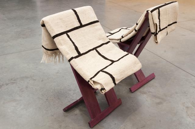 , 'Sitting nomadic dwelling unit,' 2016, Instituto de Visión
