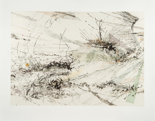 Julie Mehretu, 'Diffraction', 2005, Print, Sugar-lift and aquatint w/soft-ground etching, hard-ground etching and engraving, Joanna Bryant & Julian Page