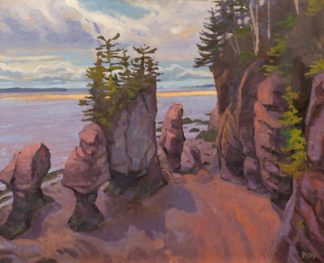 Réjean Roy, 'Hopewell Rocks', 2019, Gallery 78