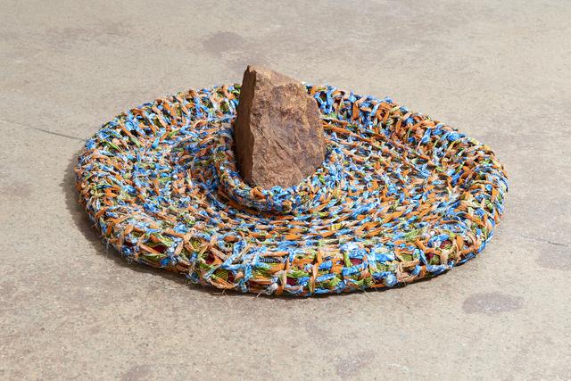 , 'Neste lago tem uma pedra, Sandstone FricaBra (This lake has a stone, Sandstone FricaBra),' 2018, Goodman Gallery