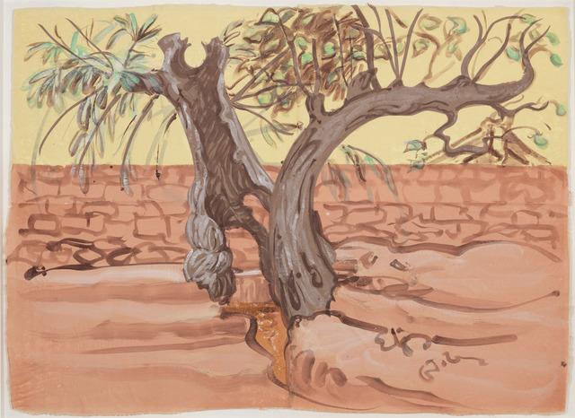 Sigrid Holmwood, 'Village Trees Straddling a Water Channel', 2012, Annely Juda Fine Art
