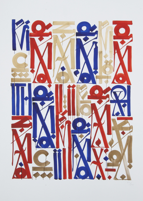 RETNA, 'Braddock Tiles', 2013, Julien's Auctions