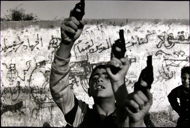 , 'Gaza City, Gaza [boys w/ toy guns],' 1993, Stephen Bulger Gallery