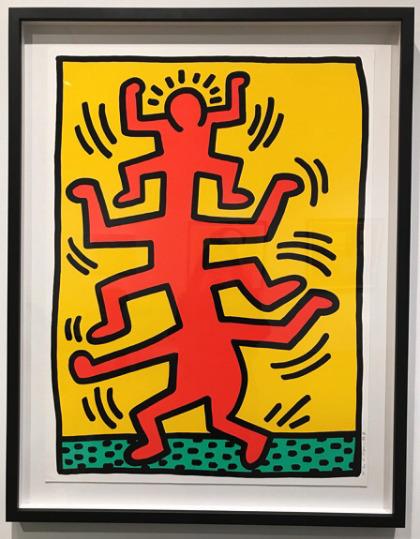 Keith Haring, 'Growing #1', 1988, Taglialatella Galleries