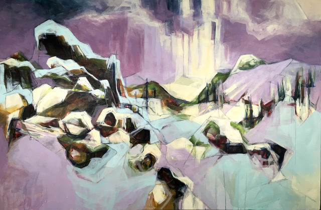 Rebecca Schultz, 'Smalls Trail, Brush Creek Ranch', 2018, InLiquid