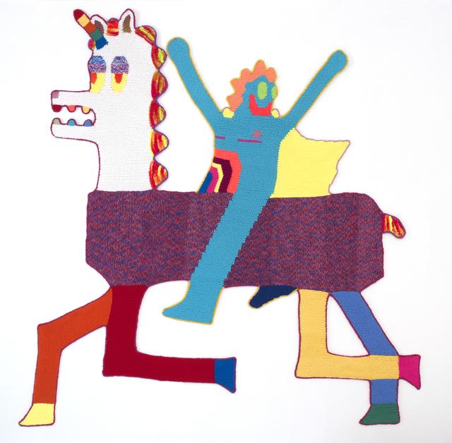 , 'Comholio Victory,' 2016, Luis De Jesus Los Angeles