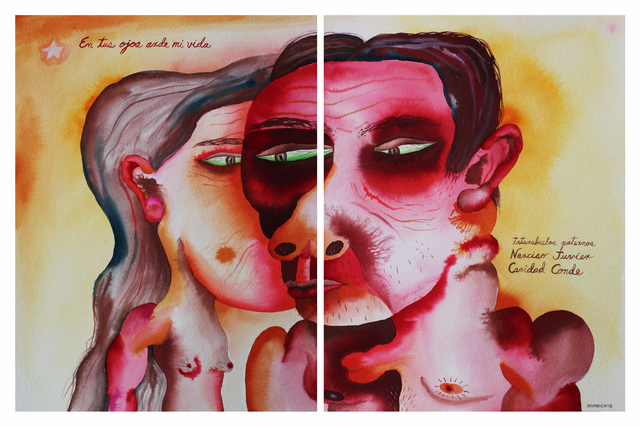 , 'Narciso Juvier & Caridad Conde - Paternal Great-Great-Grandparents,' 2012, Cuban Contemporary