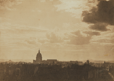 Charles Marville, 'Sky Study, Paris,' 1856-1857, Phillips: The Odyssey of Collecting