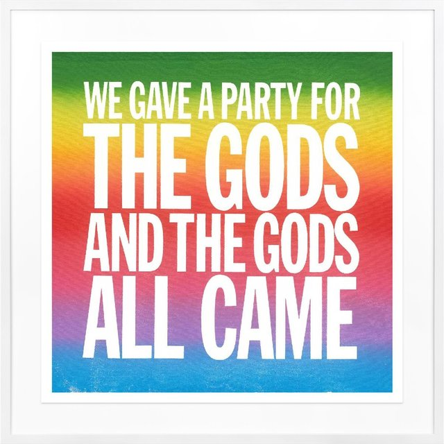 , 'We Gave a Party for the Gods and All the Gods Came,' 2017, TWYLA