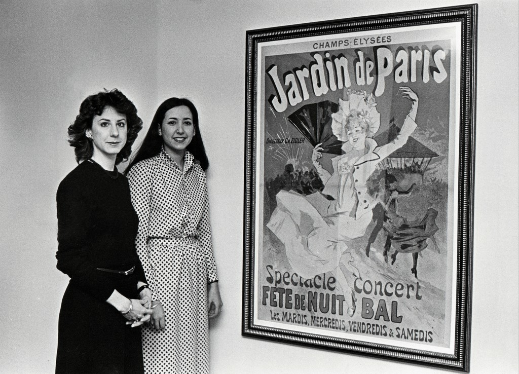 Gallery Director Marcia Hall on the left