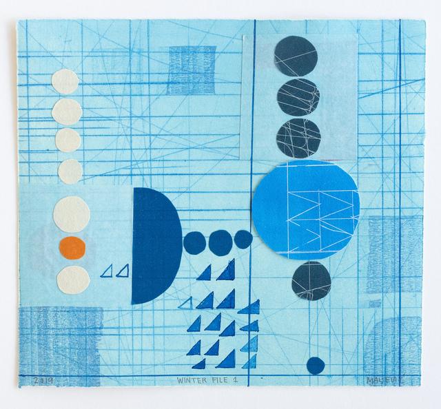 , 'Winter File 1,' 2019, David Krut Projects