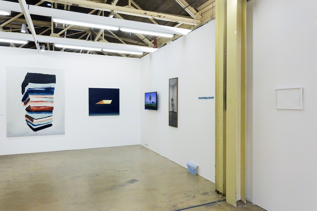 AKINCI @ Art Rotterdam, view paintings by Andrei Roiter a.o., photo Renato Ghiazza
