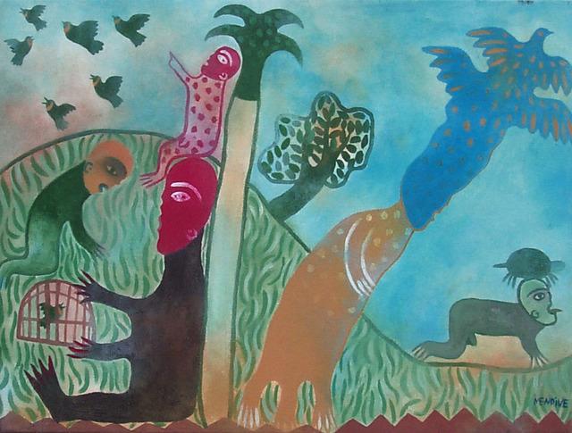 Manuel Mendive, 'Untitled ', 1998, Gary Nader