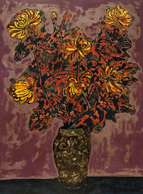 , 'Chrysanthemum,' 2016, Affinity ART