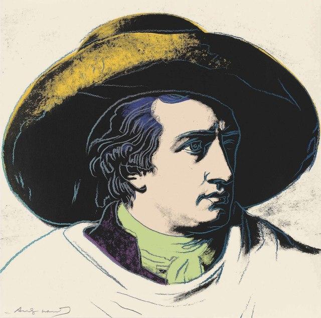 Andy Warhol, 'Goethe', 1982, Print, Screenprint in colours on Lenox Museum Board, Christie's
