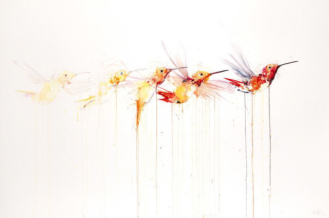 Dave White, 'Humming Bird Movement II', Visions West Contemporary