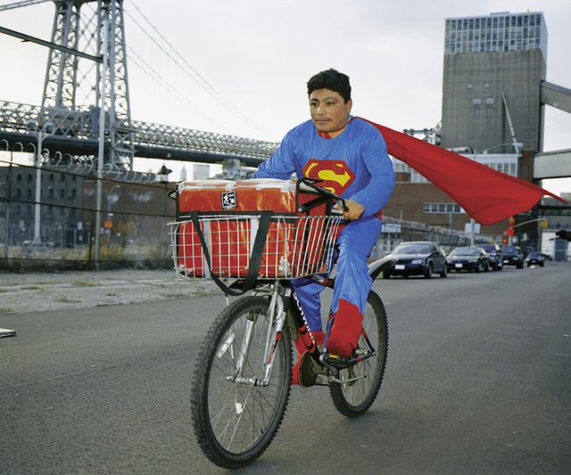 """Dulce Pinzon, 'Superman (from """"The real story of the Superheroes"""") ', 2018, Troconi-Letayf"""
