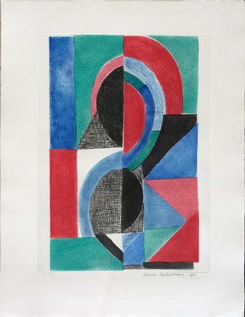 Sonia Delaunay, 'Avec moi meme', 1970, Dellasposa