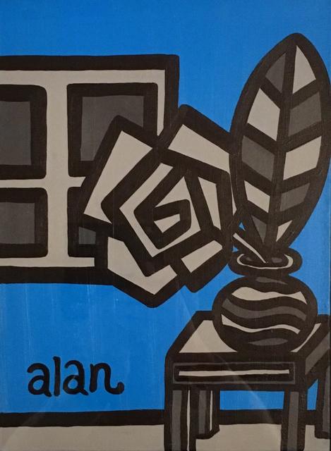 , 'Monochrome + Flower (Blue),' 2016, Taro Gallery