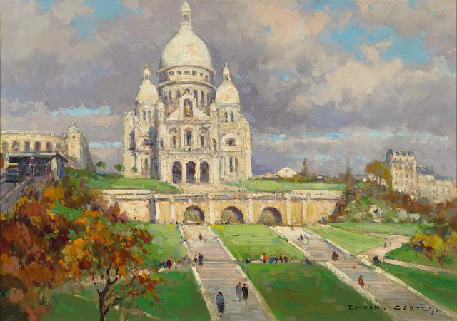 , 'Sacré-Coeur,' ca. 1935, M.S. Rau