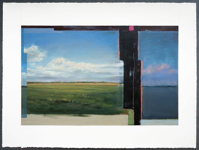 , 'Glitch in Green Space,' 2016, Nohra Haime Gallery