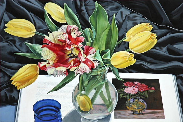 Sherrie Wolf, 'Yellow Tulips with Manet', 2017, Arden Gallery Ltd.