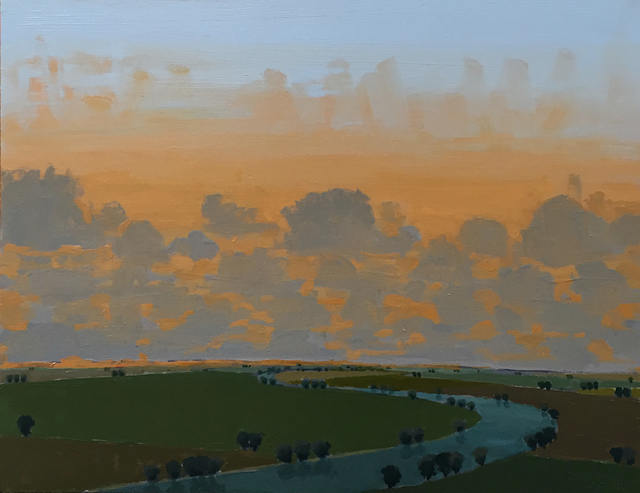 John Karl Claes, 'Late Light - Low Clouds', ÆRENA Galleries and Gardens