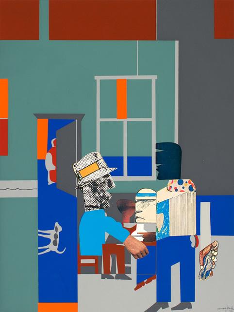 , 'CAROLINA BLUE,' 1970, Jerald Melberg Gallery