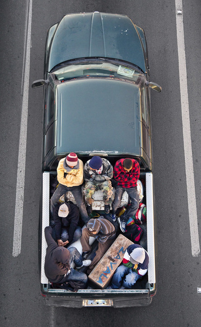 , 'Carpoolers #12,' 2011, Circuit Gallery