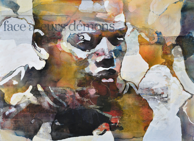 Bruce Clarke, 'Face à ses démons', 2017, Afikaris