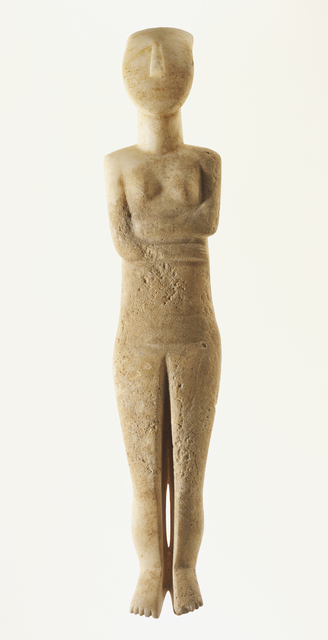 'Female Figure of the Early Spedos Type', 2700 -2500 B.C., J. Paul Getty Museum
