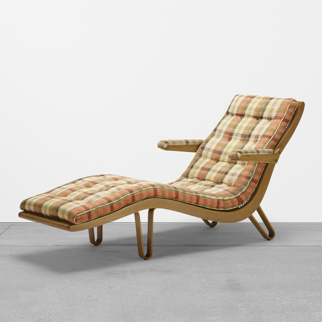 Edward Wormley, 'chaise lounge, model no. 46903', 1946, Wright