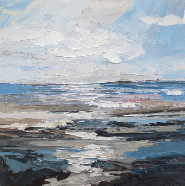 , 'Ocean Study-Limantour,' 2017, Seager Gray Gallery