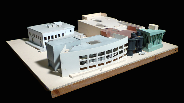 , 'Chiat/Day Building Final Model, Venice, California,' 1985-1991, Los Angeles County Museum of Art
