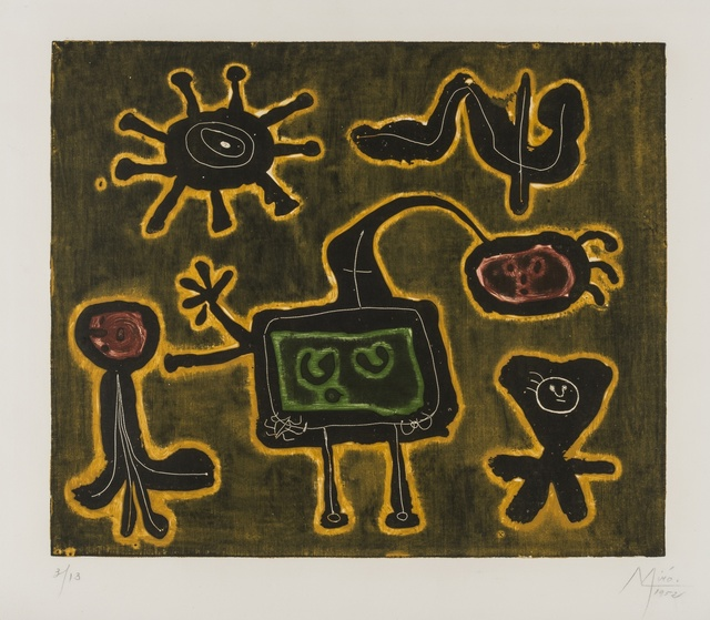 Joan Miró, 'Serie I (Dupin 80)', 1952-53, Forum Auctions