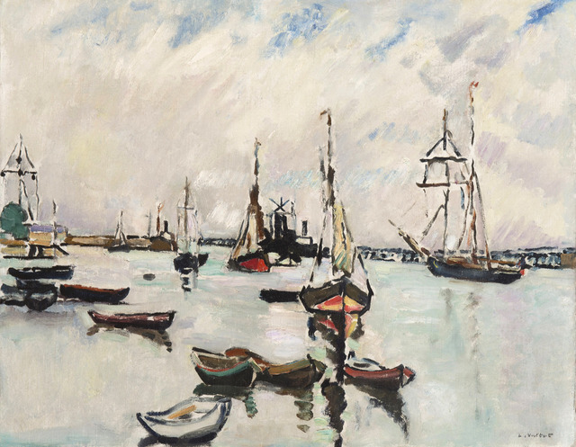 Louis Valtat, 'Le port d'Ouistreham', ca. 1927, BAILLY GALLERY