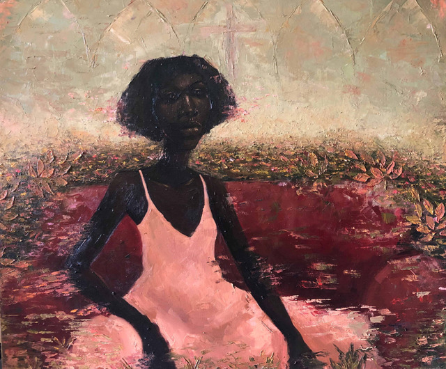 Chidinma Nnoli, 'My Name Is Purple II', 2019, Painting, Oil on Canvas, Rele