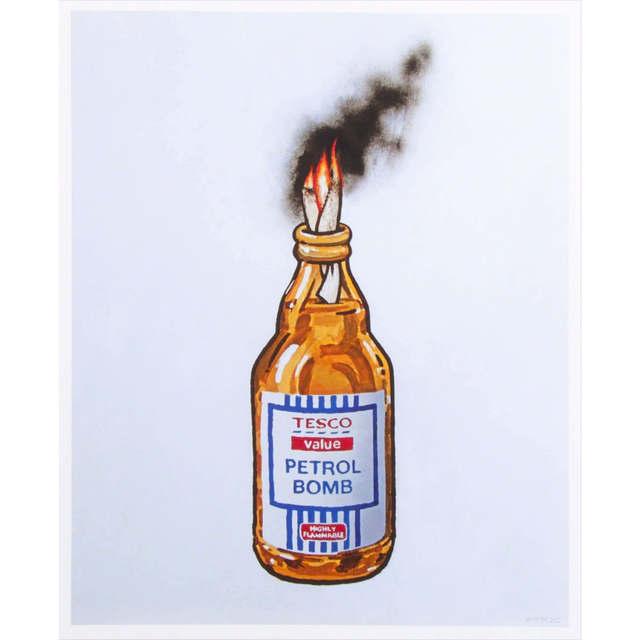 Banksy, 'Tesco Petrol Bomb ', 2011, The Drang Gallery