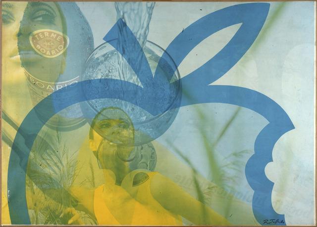 , 'Uno sguardo dal bicchiere,' 1966, Robilant + Voena