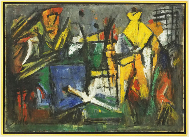 , 'Abstraction Nouvelle II ,' 1954, Bruno Art Group
