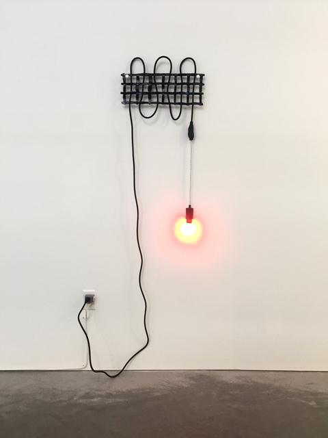 , 'Untitled (Grid No. 4 – Black),' 2016, Eleanor Harwood Gallery