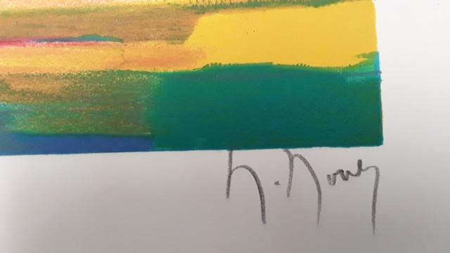Marcel Mouly, 'Cargo et Bateaux a Violes', 1999, Print, Lithograph on Wove Paper, Baterbys