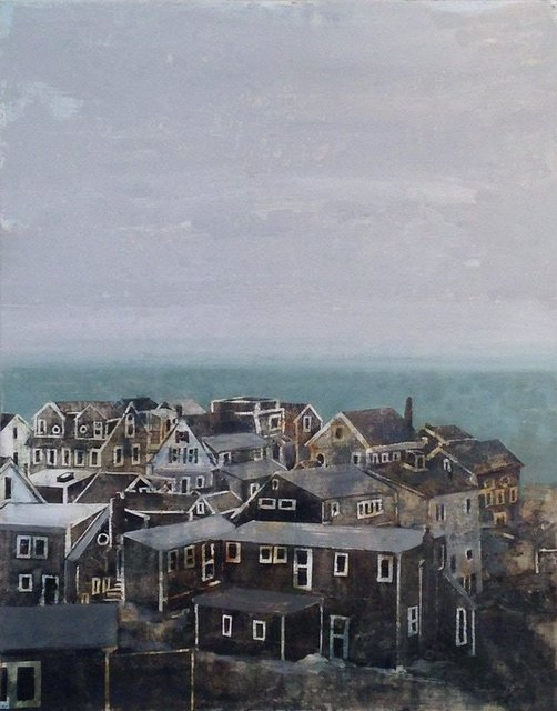 , 'Provincetown Winter 2,' 2017, Albert Merola Gallery